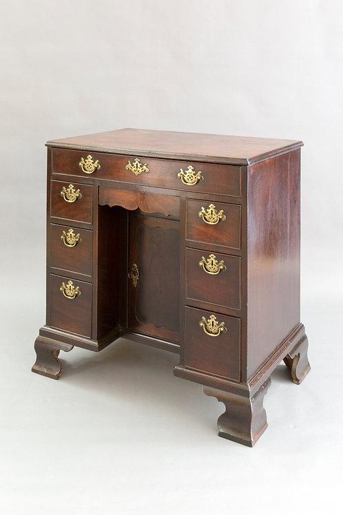Kneehole Desk Mahogany Regency Period