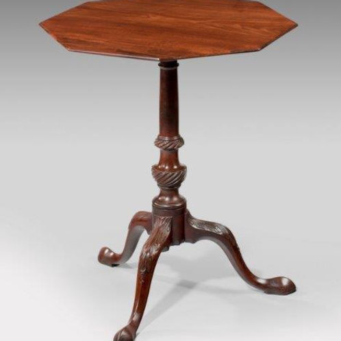 Chippendale Period Tripod Table