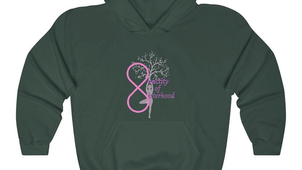 """SANCTITY OF SISTERHOOD"" Unisex Heavy Blend™ Hooded Sweatshirt"