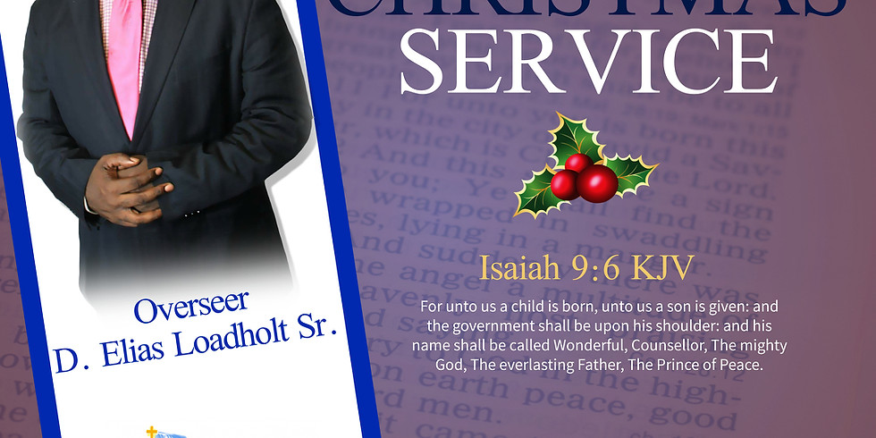Christmas Sunday Service