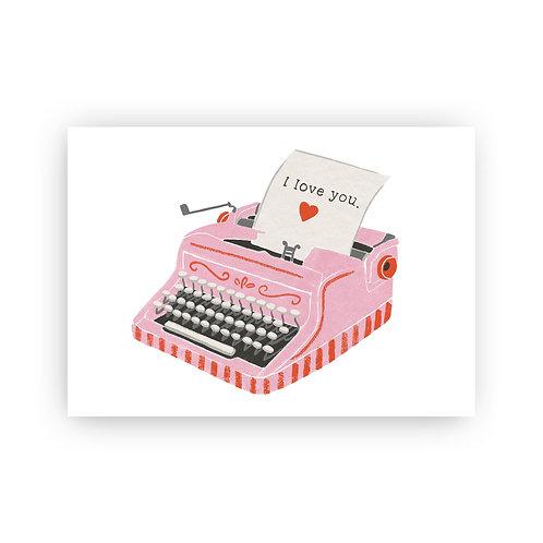 Love Letter - Postkarte