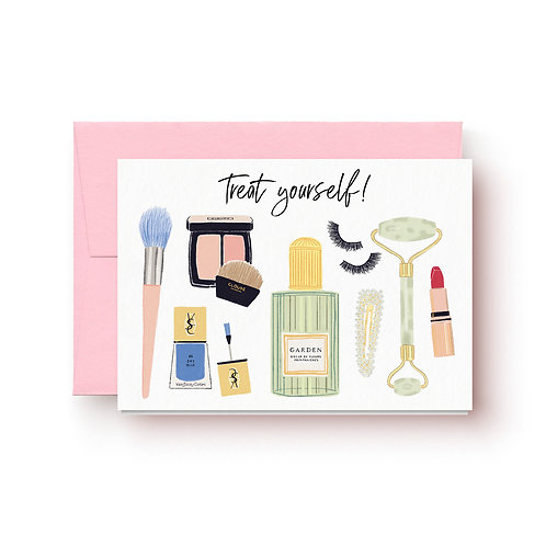 Treat yourself - Grußkarte