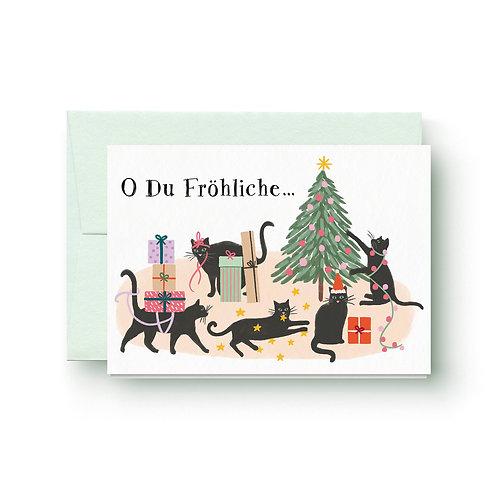 O Du Fröhliche - Weihnachtskarte