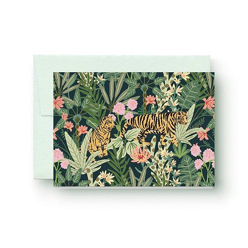 Tiger - Grußkarte