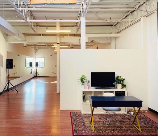 Studio A - Front Desk