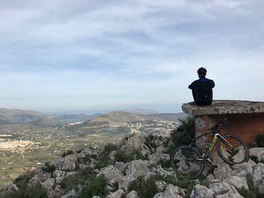 we offer carbon bike hire for your cycling holiday. cycle spain and take in the breath taking views