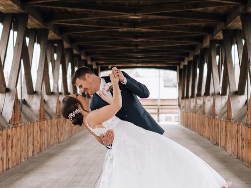 Lovely April Wedding in Celina, Ohio
