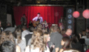Mack Spellman, Stereo Drive-By, live in Boston, acoustic rock music