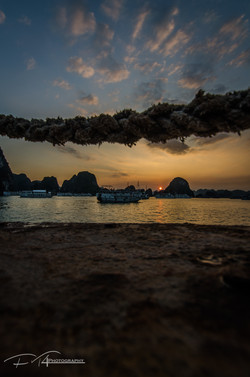 Halong Bay Sunset (Vietnam)