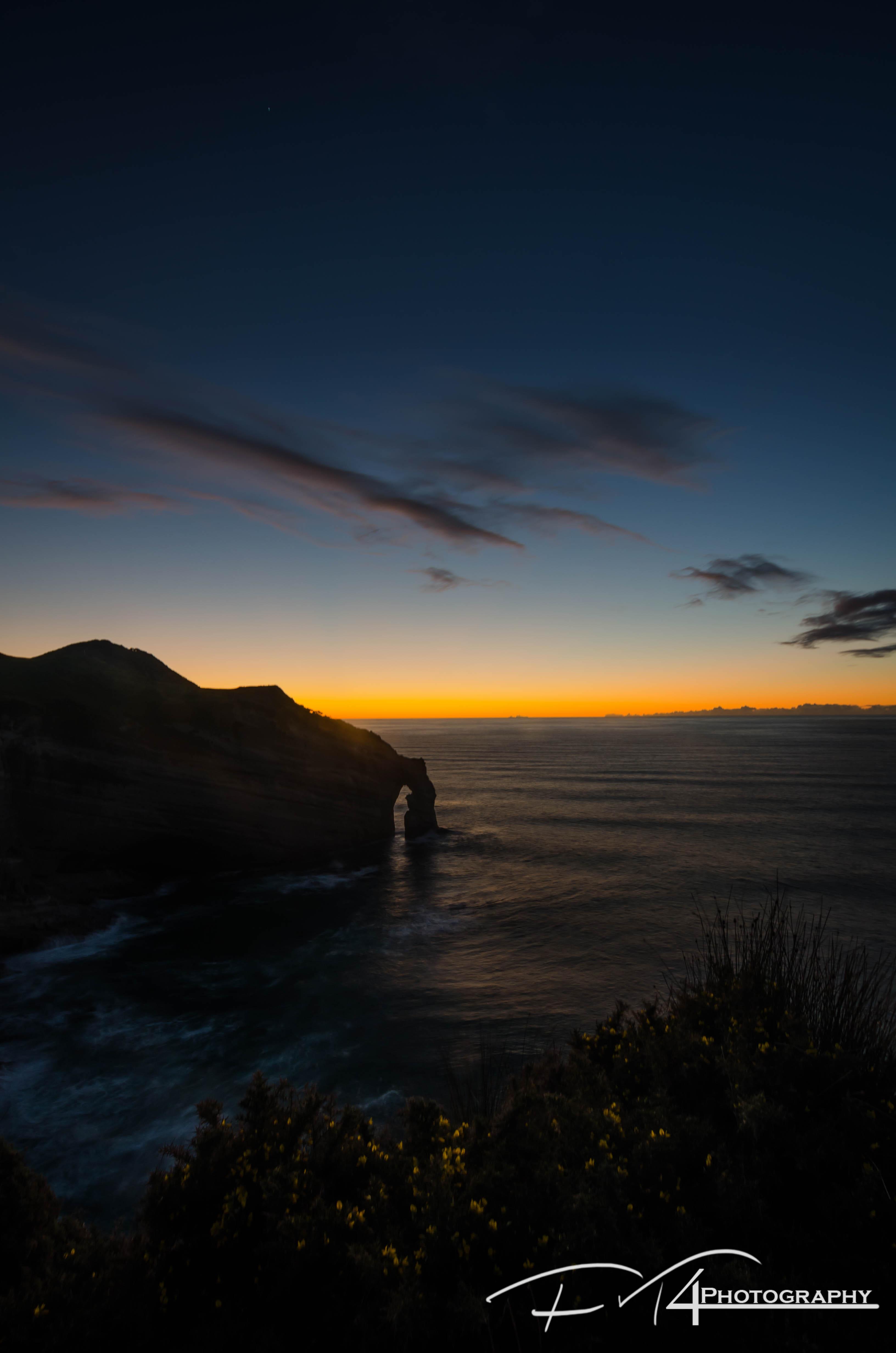 Deadend sunset