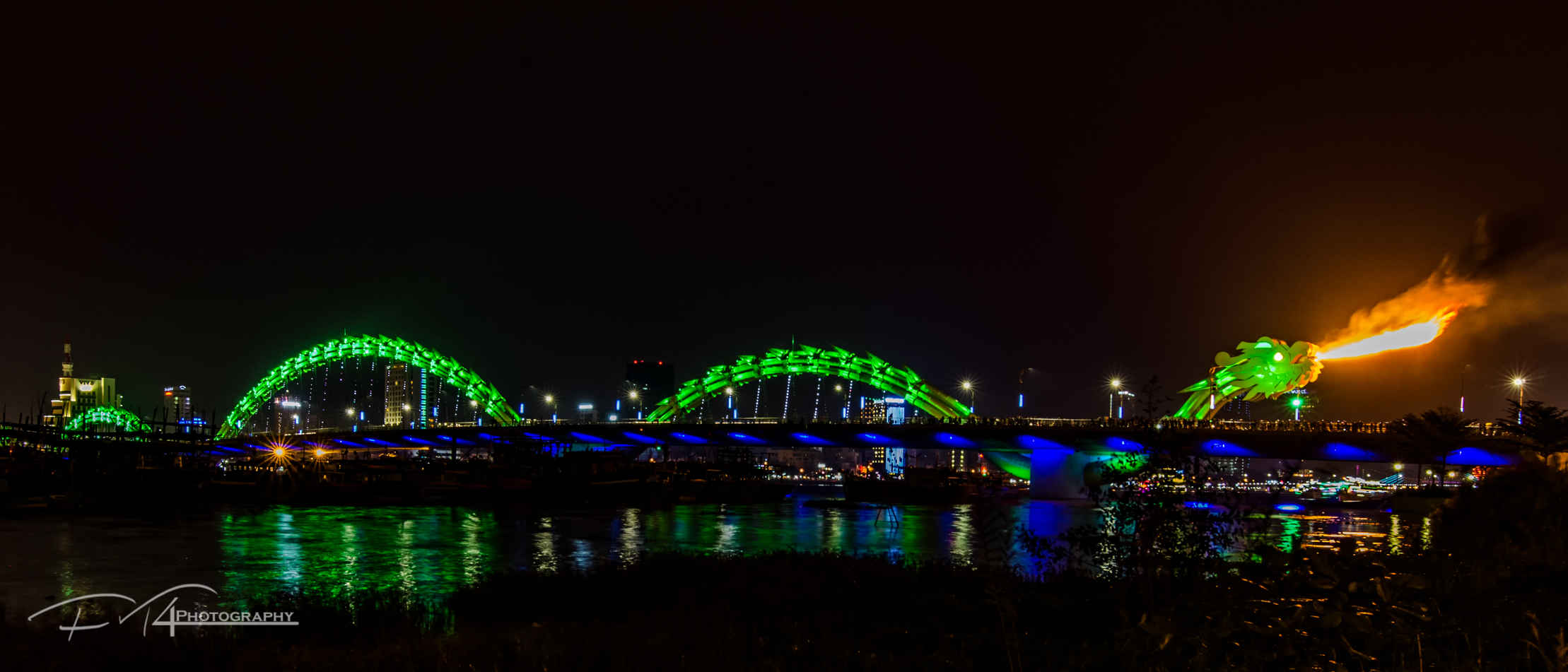 The Dragonbridge in Da Nang