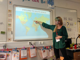 Raising awareness to young children at a London school