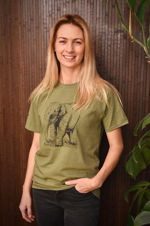 Elephant T-shirt (Unisex adult)