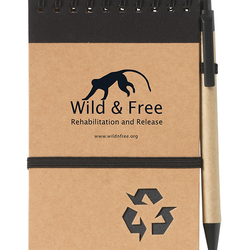 Wild & Free Notepad & Pen