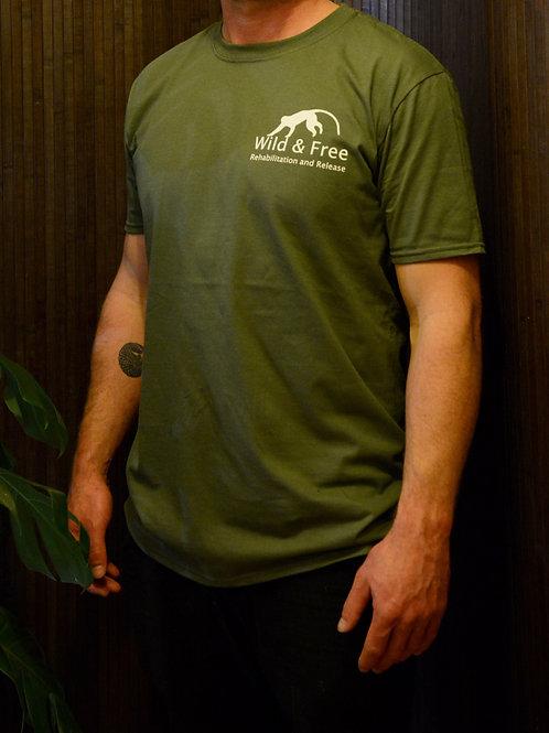 Wild & Free Short Sleeves T-Shirt