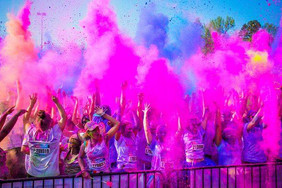 Volunteers needed - ColorRun 2016