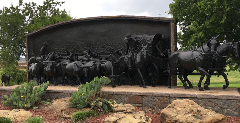 Chisholm Trail monument