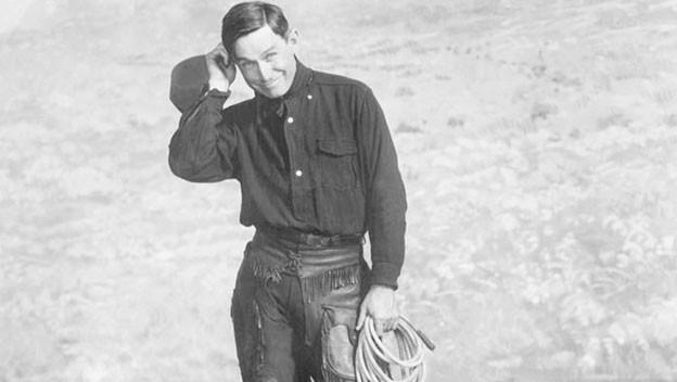 Oklahoma cowboy Will Rogers