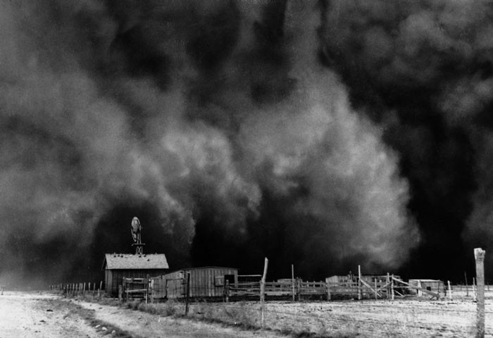 3.A black roller tears into Goodwell, Oklahoma