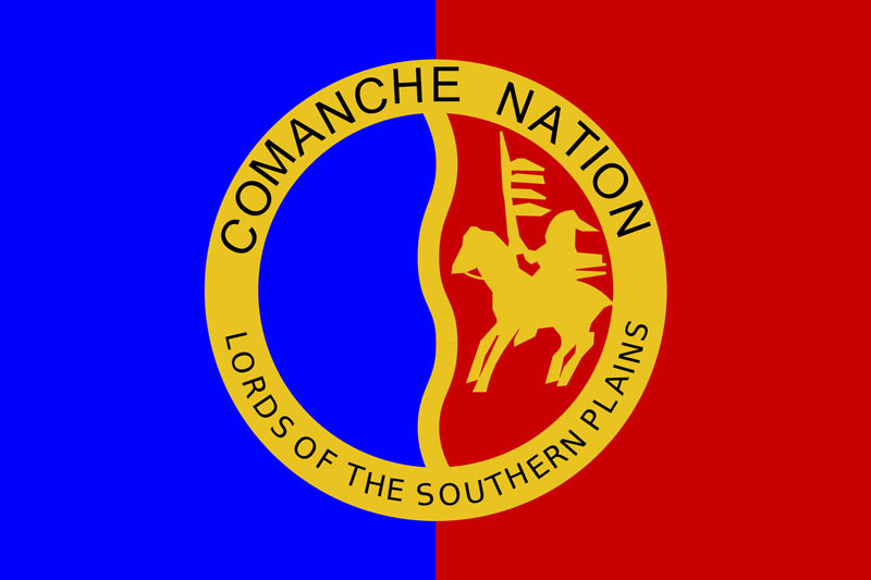Comanche Nation flag