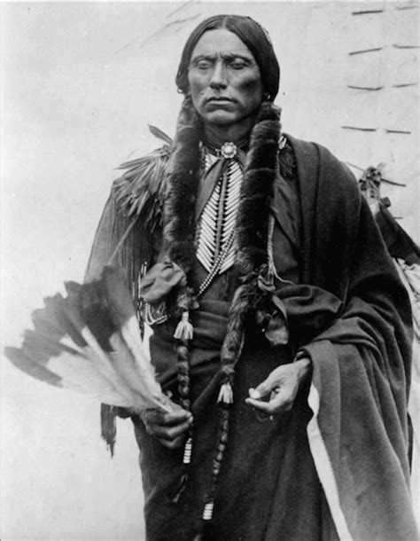 Quanah Parker, the legendary Comanche Chief and early Oklahoma leader who led his warriors into battle at Adobe Walls