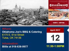 John Talking Tulsa & Oklahoma History Wednesday at Tulsa County Men's Republican Club