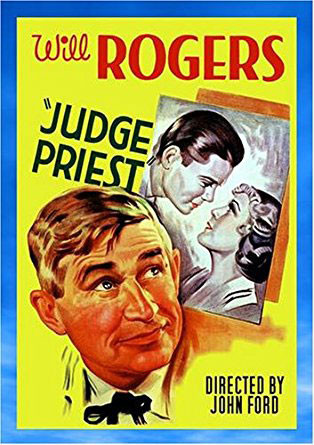 Movie poster for the classic John Ford film Judge Priest