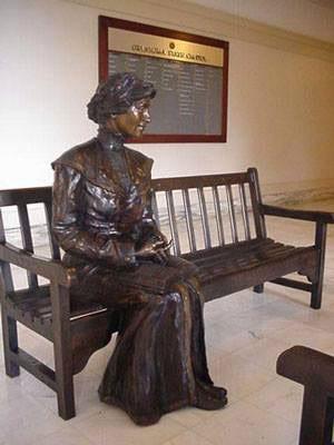 Sandra Van Zandt's inspiring bronze statue of Kate Barnard