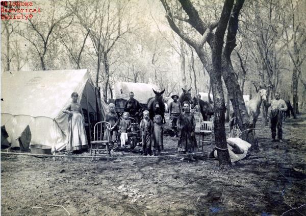 1889 Oklahoma Land Run
