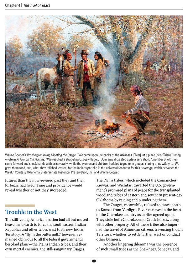 Oklahomans Chapter 4 - Trail of Tears