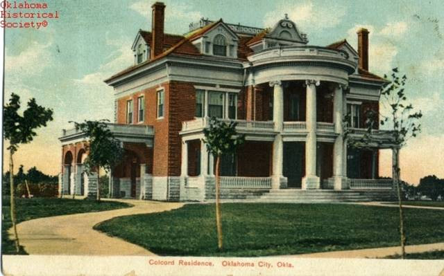 Charles Colcord's Heritage Hills mansion