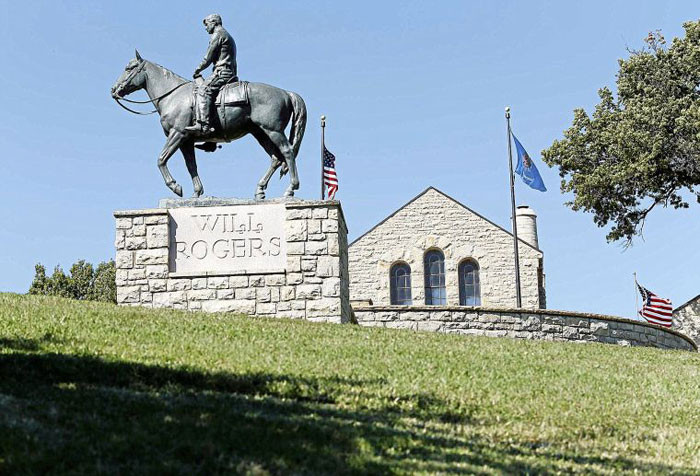 The Will Rogers Memorial Museum in Claremore. (http://www.willrogers.com)