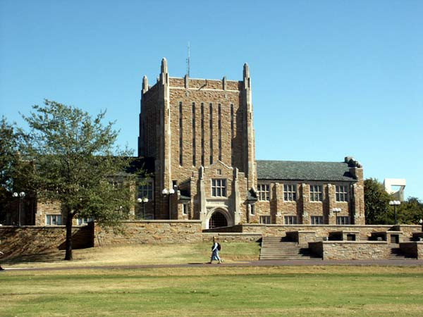 McFarlin Library, the University of Tulsa