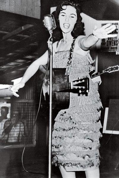 Wanda Jackson in the 1950s