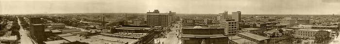 Downtown Oklahoma City in 1910