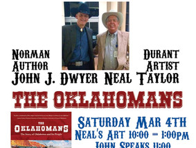 Renowned Oklahoma Artist Joins John Saturday in Durant