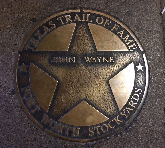 John Wayne Marker