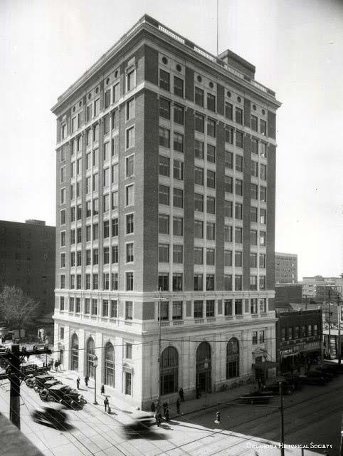 Exchange National Bank, Tulsa, 1920