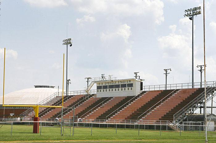 Capitol Hill's modern-day football stadium, named for legendary Redskin coach C. B. Speegle