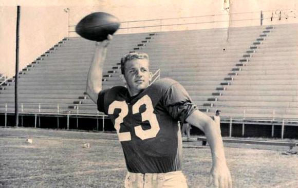 Capitol Hill quarterback Dick Soergel