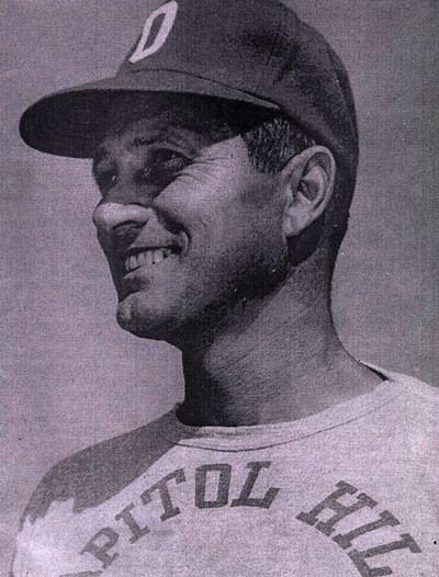Redskin coach and Roosevelt, Oklahoma native C. B. Speegle