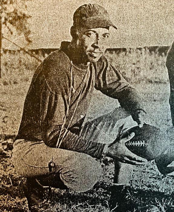 Douglass Trojan football coach Moses F. Miller