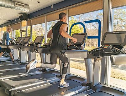 Equilibrium Fitness   LifeFitness   Treadmill   Atlanta   Piedmont Park