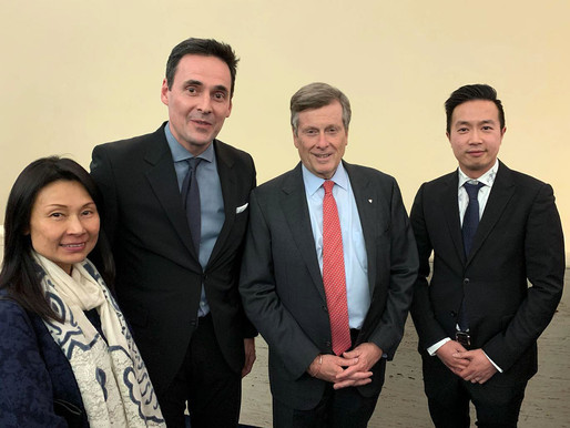 OnePieceADay with Toronto Mayor John Tory