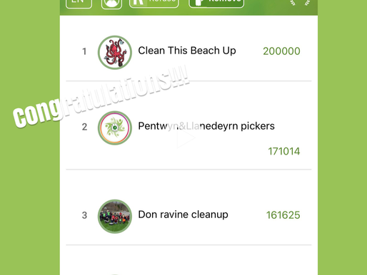 Congratulations to Cleanthisbeachup!