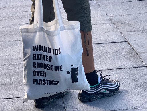 Plastic-Free July Challenge #3: Bring your own reusable shopping bag 🛒