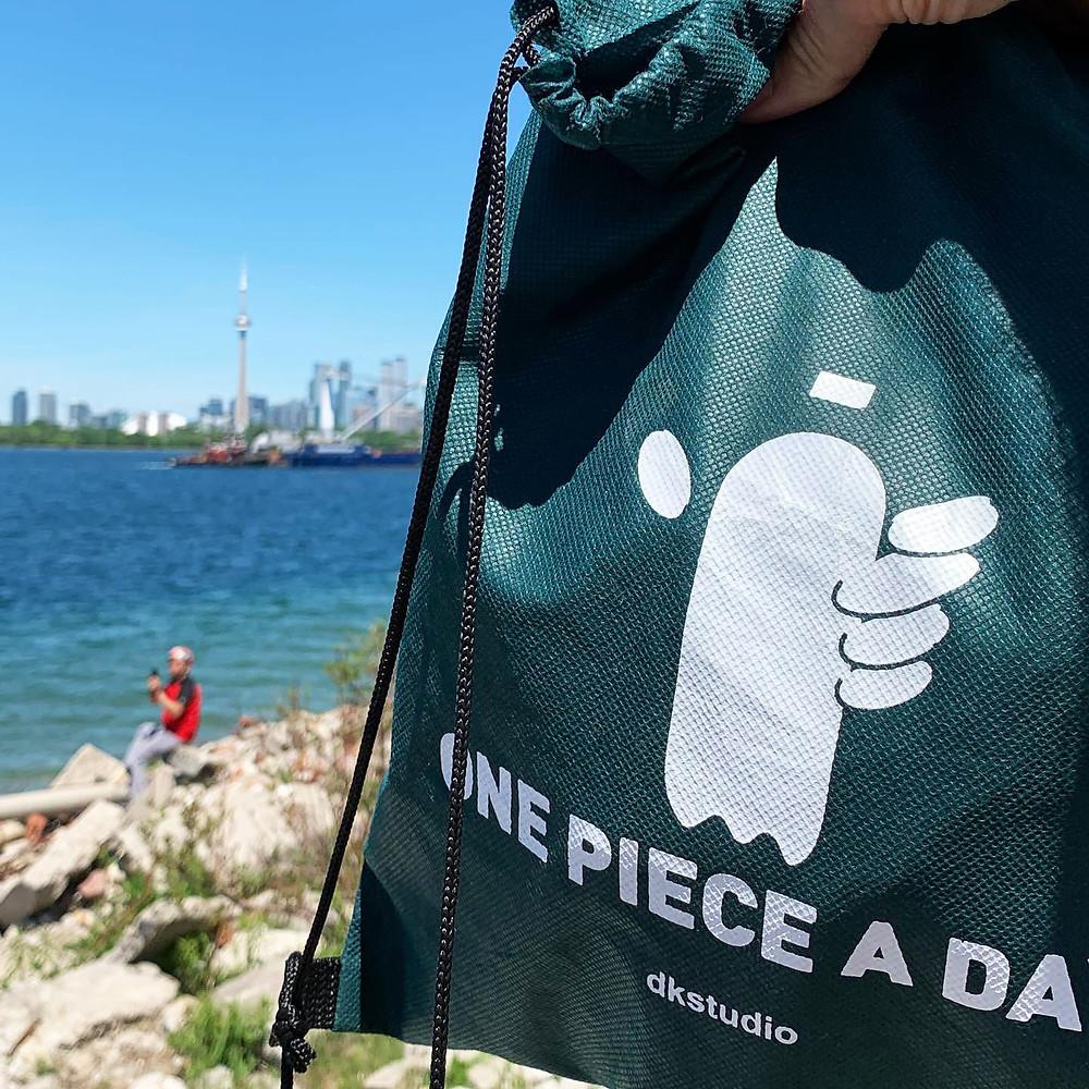 OnePieceADay reusable bag