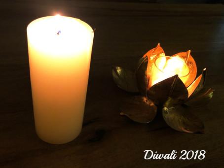 新月の日に インドで新年を迎えました