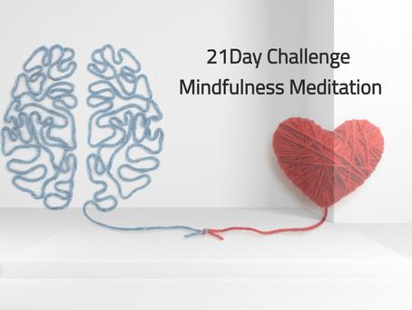 第2回【21日間チャレンジ!マインドフルネス瞑想】