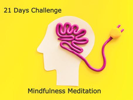 第3回目【21日間チャレンジ!マインドフルネス瞑想】